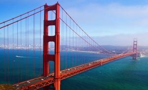 Fotografija mosta Golden Gate,