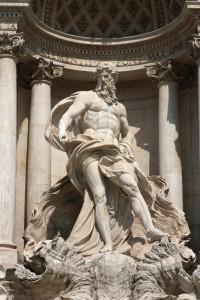 Statua boga Neptuna